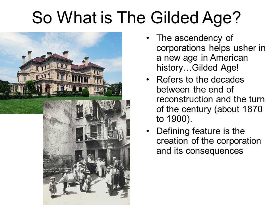 define gilded age