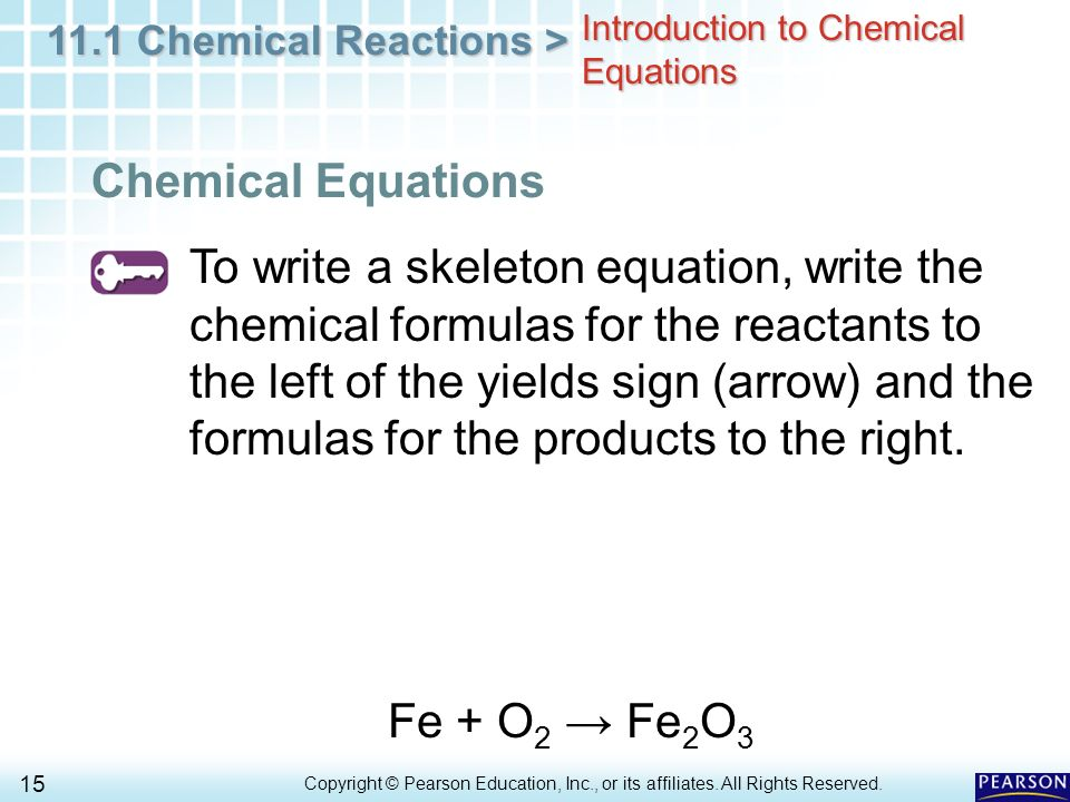 Chapter 11 Matter And Change 111 Describing Chemical Reactions. Introduction To Chemical Equations. Worksheet. Worksheet 1 Word And Skeleton Equations Answers At Clickcart.co