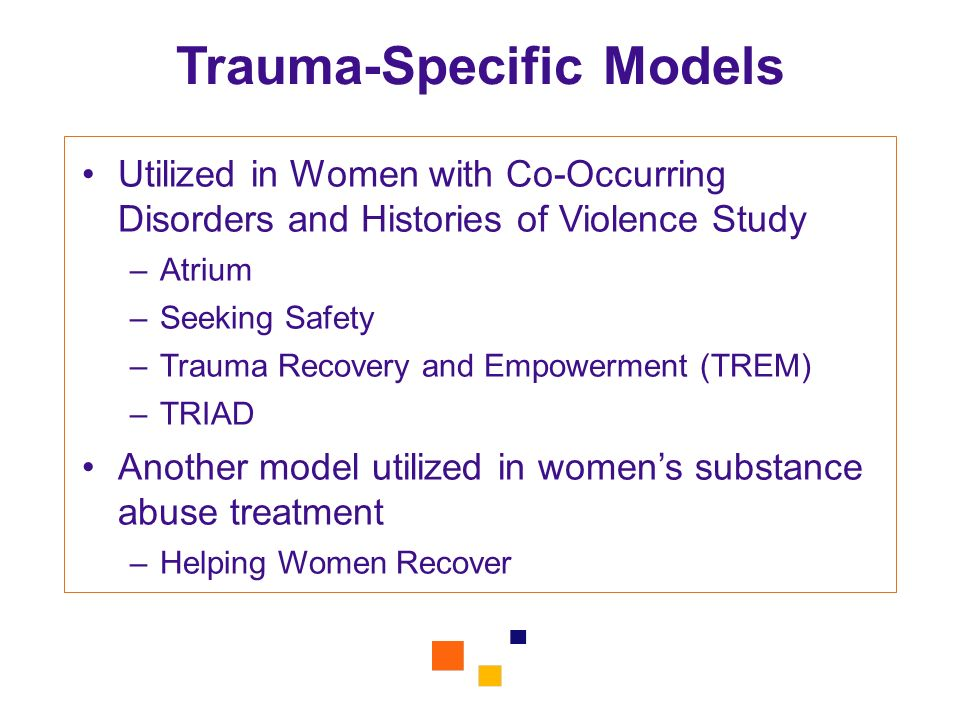 Trauma-Specific Models