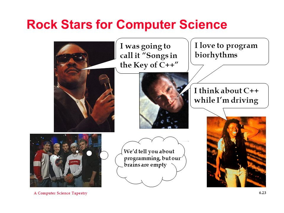 Rock Stars for Computer Science