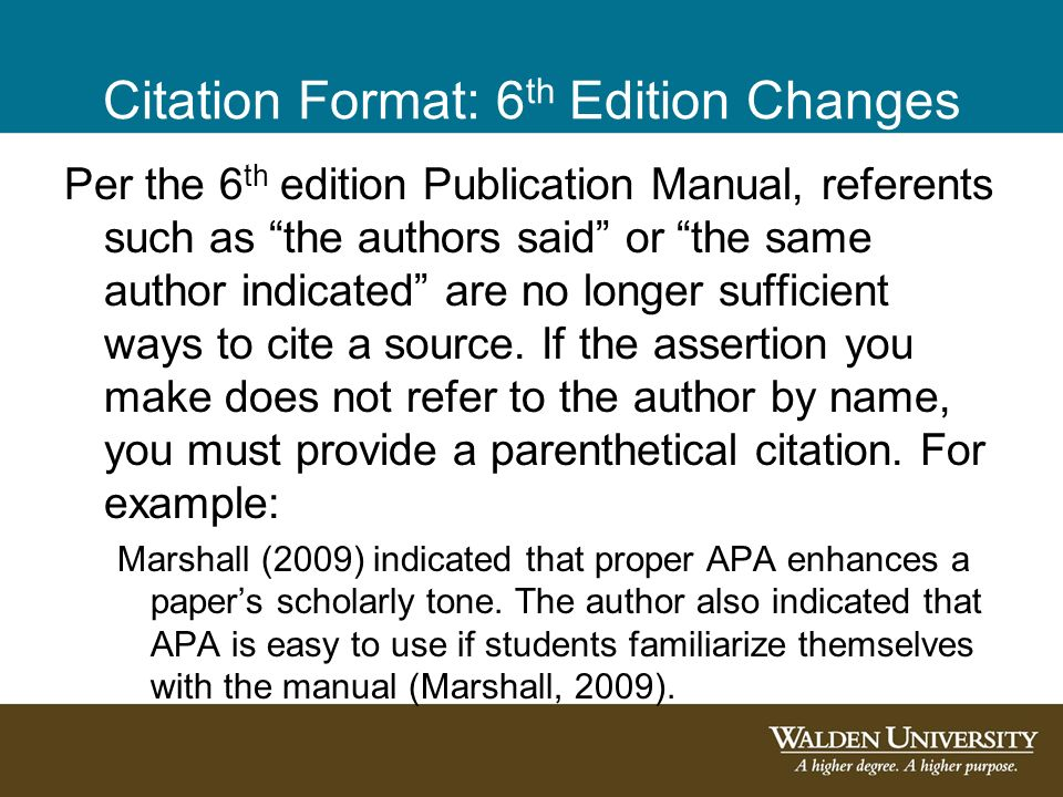 introduction to 6th edition apa citations and references ppt
