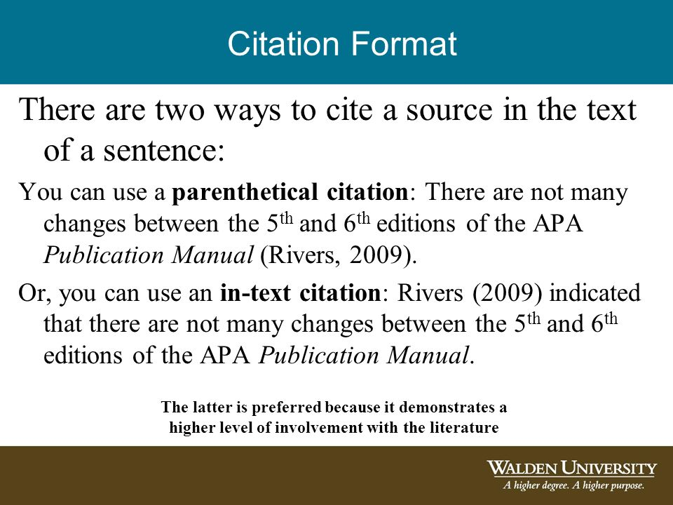 Introduction To 40th Edition APA Citations And References Ppt Fascinating Apa Quote Citation