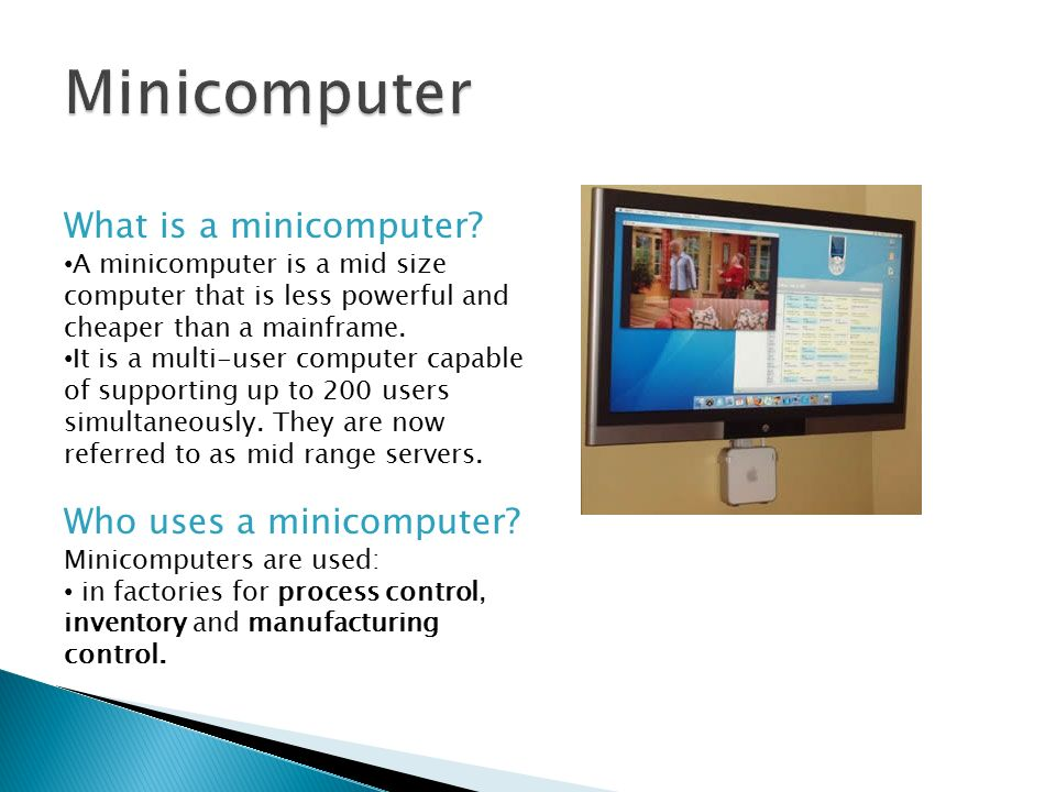 computer and uses