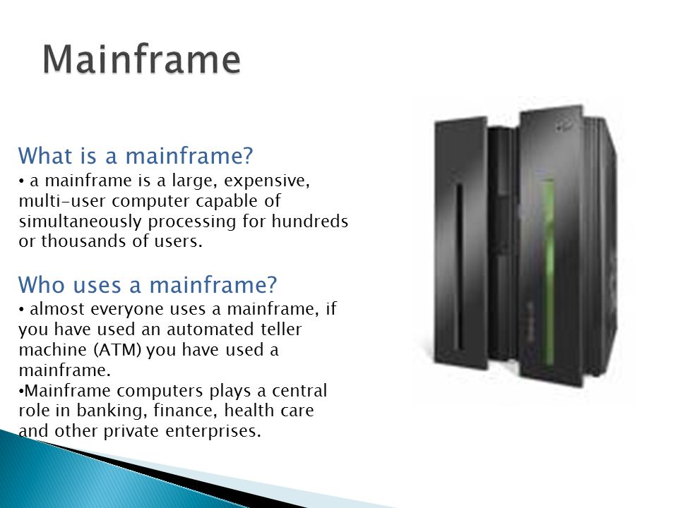 The Purpose of the Main Components of a Computer System - ppt download