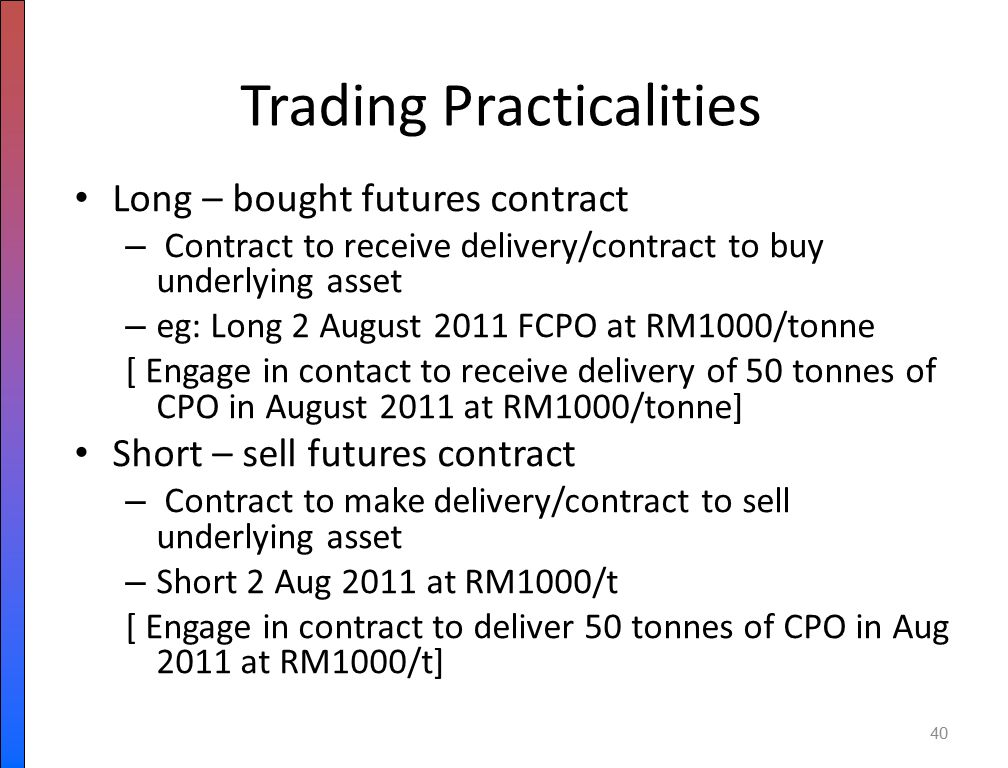 CHAPTER 7 FUTURES DERIVATIVES  - ppt download