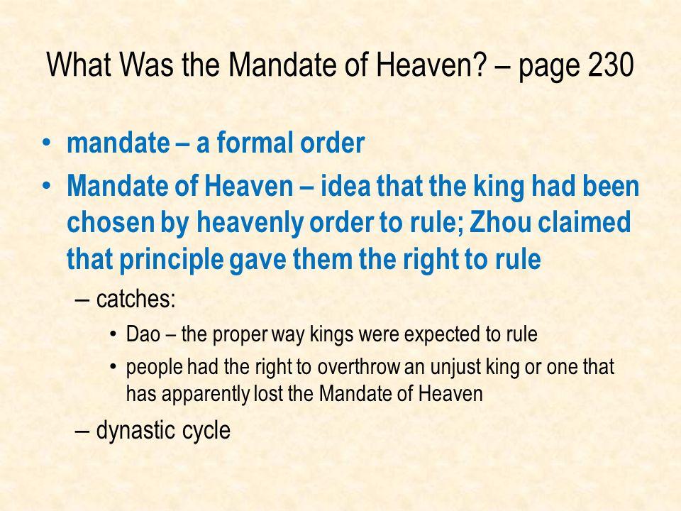 What Was the Mandate of Heaven – page 230