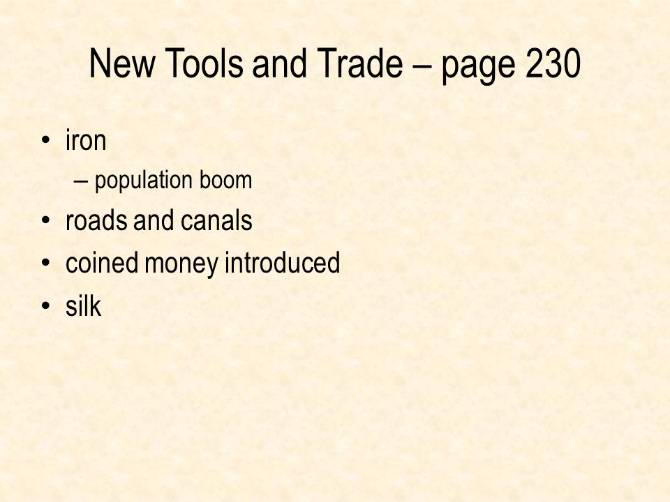 New Tools and Trade – page 230
