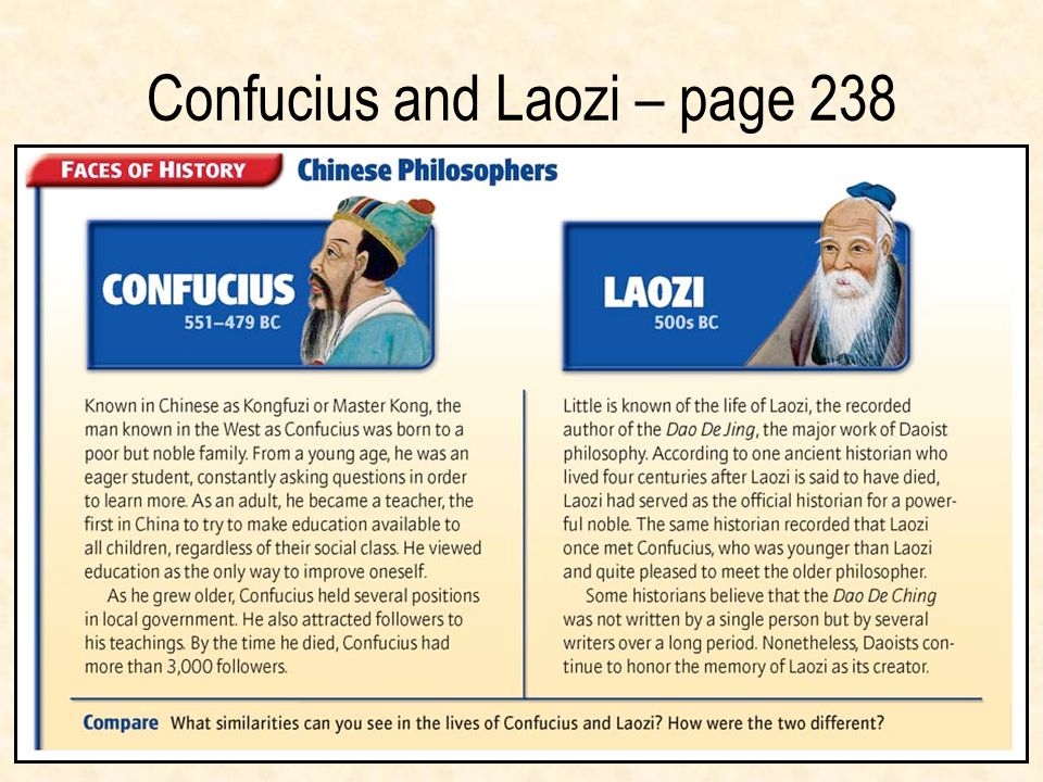 Confucius and Laozi – page 238