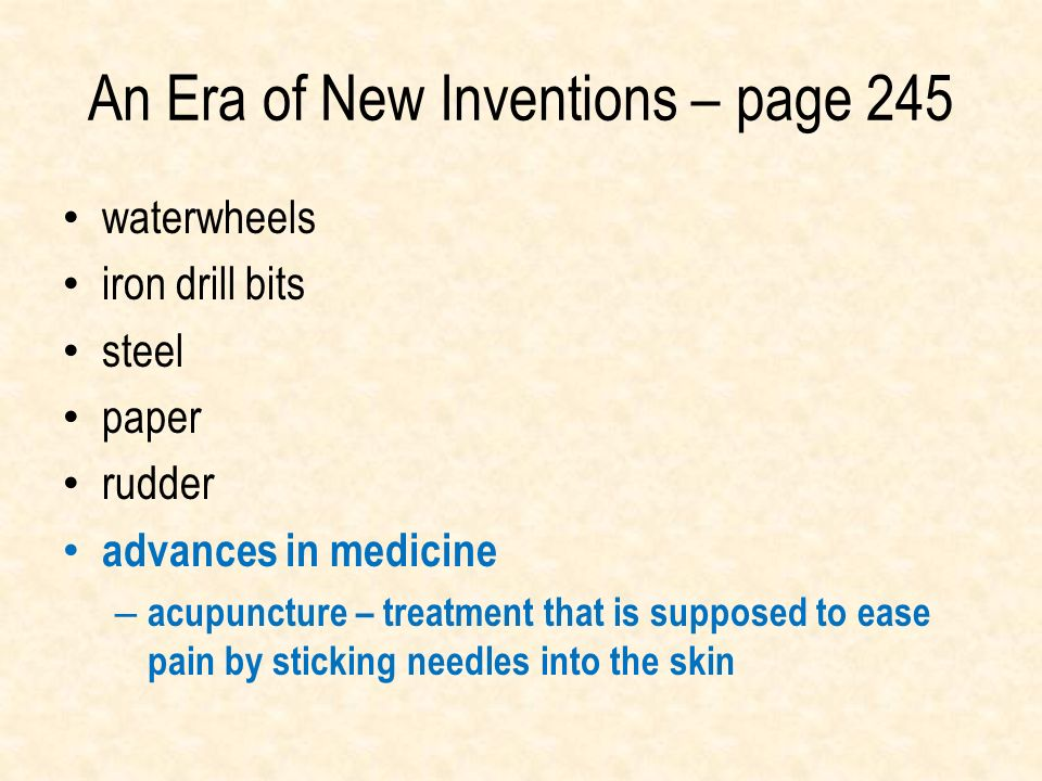 An Era of New Inventions – page 245