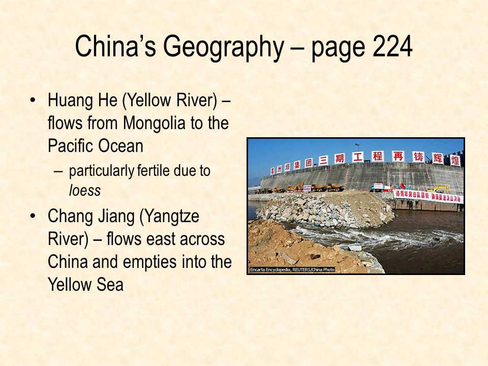 China's Geography – page 224