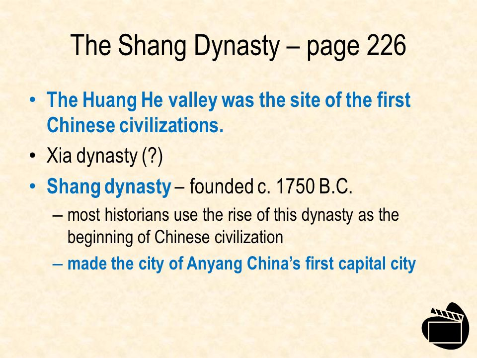 The Shang Dynasty – page 226
