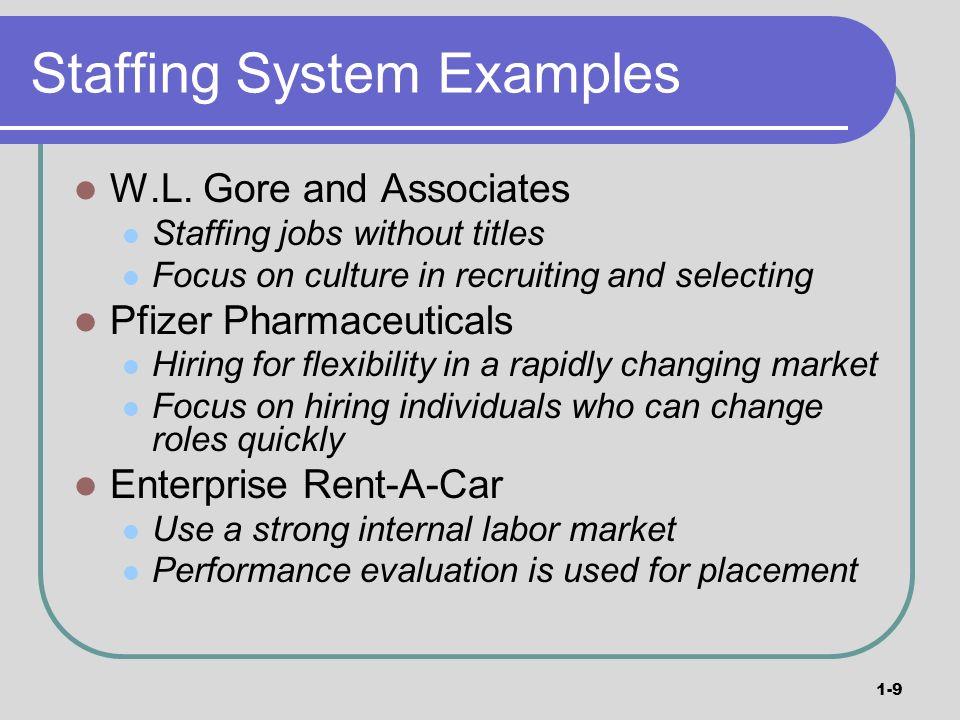 disadvantages of staffing system