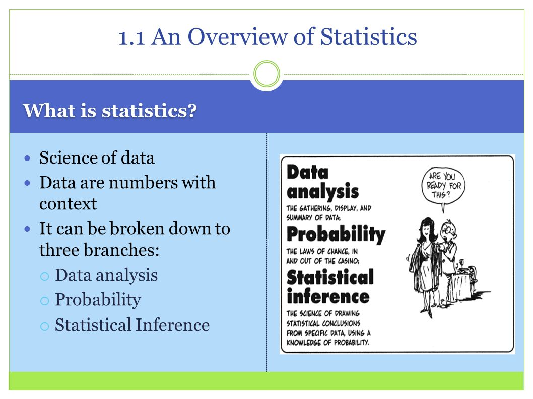 Chapter 1: Introduction to Statistics - ppt download