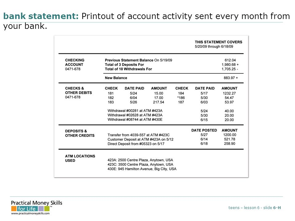 how to send bank statements to centrelink