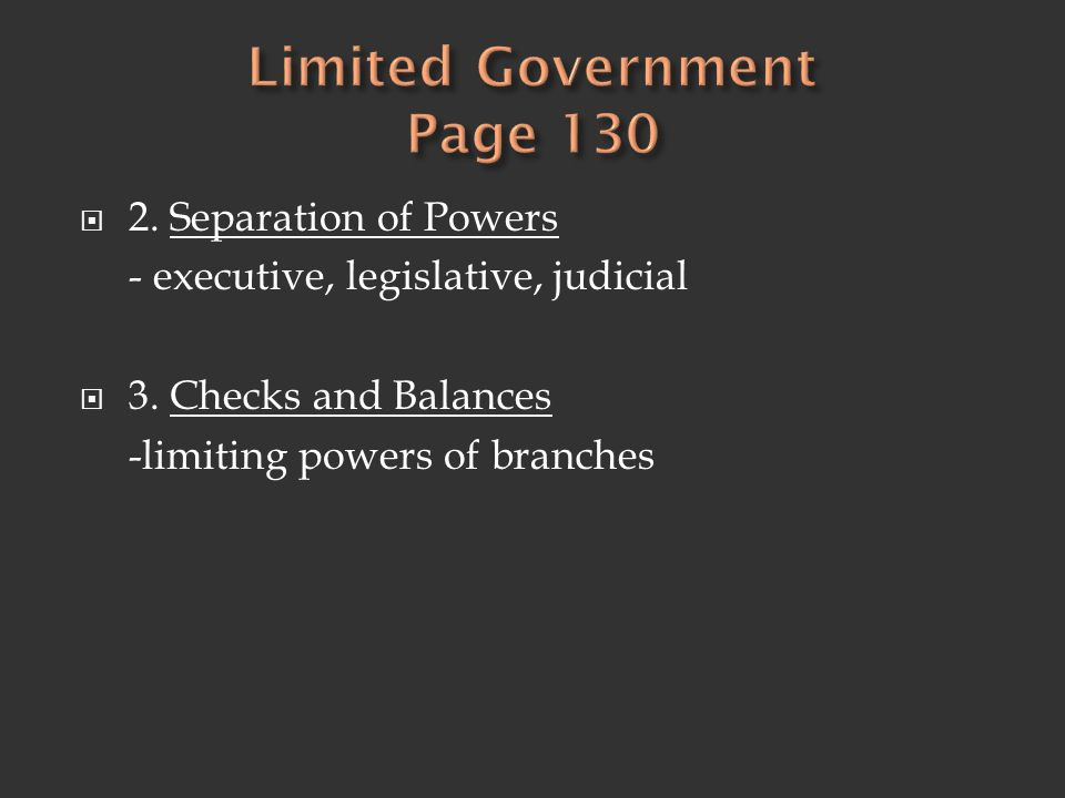 Limited Government Page 130
