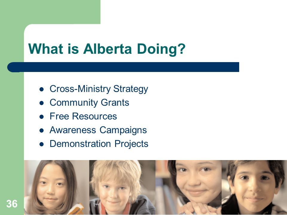 What is Alberta Doing Cross-Ministry Strategy Community Grants