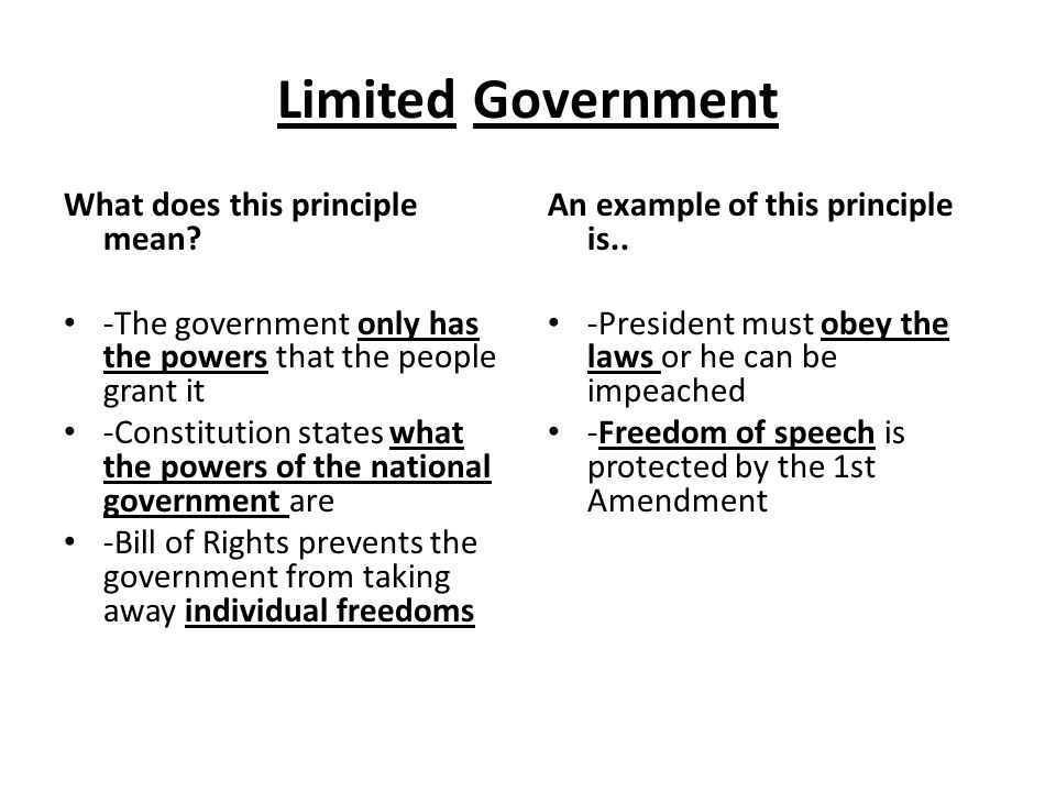Lesson 2 Principles Of The Constitution Ppt Download