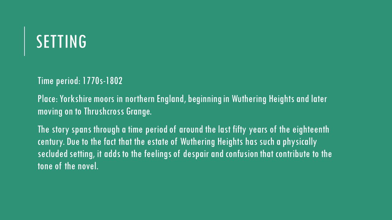 interesting facts about wuthering heights