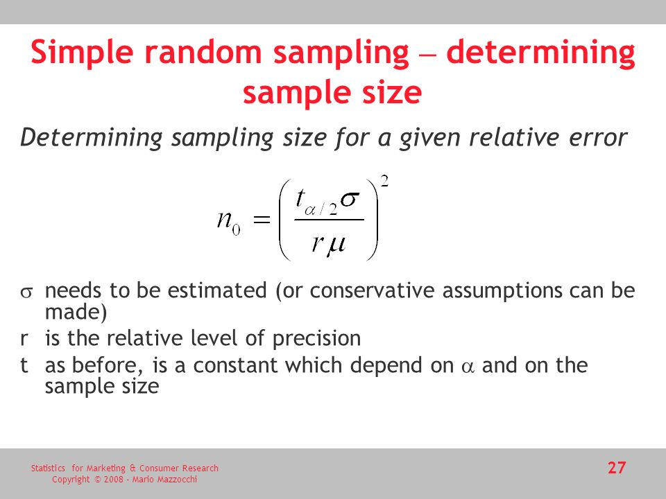 Sampling and sample size calculation ppt video online download.
