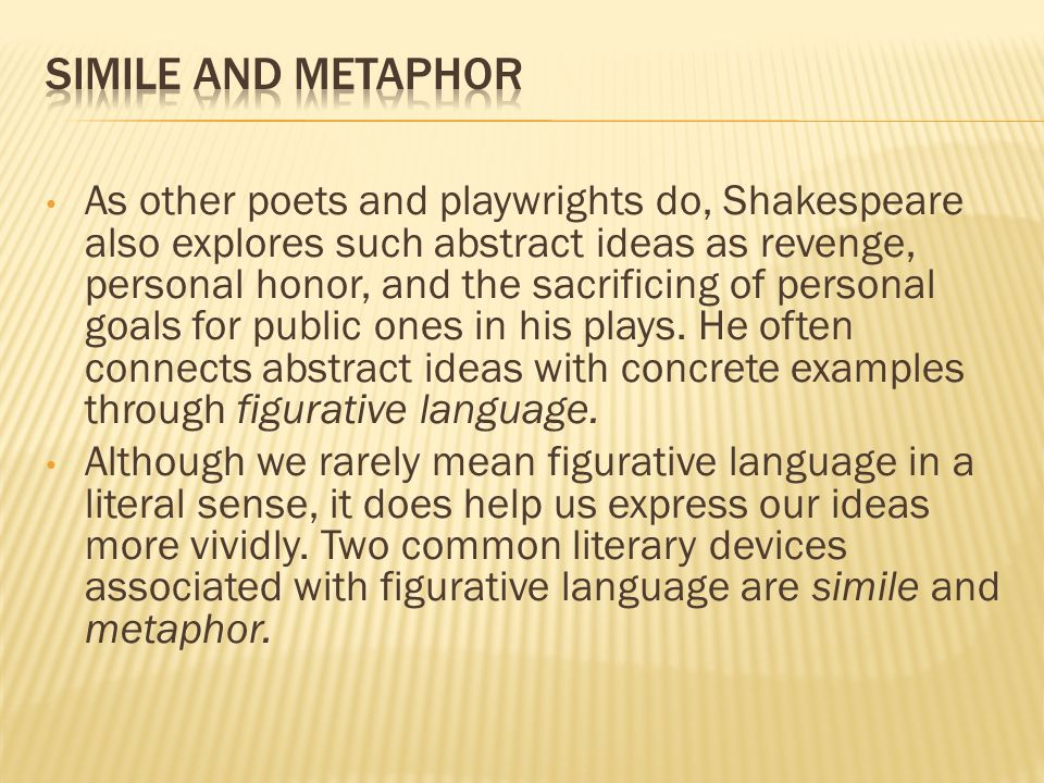 Simile And Metaphor Exploringlanguage Ppt Video Online Download