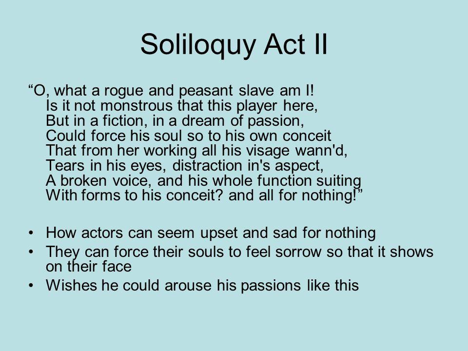 Hamlet Soliloquy Act II