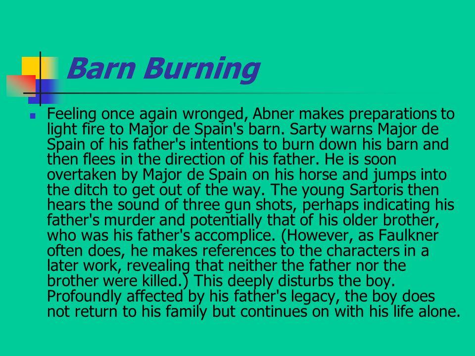 barn burning sarty