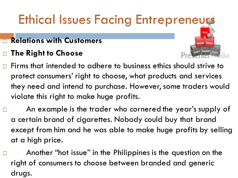 Ethical issues in international business.