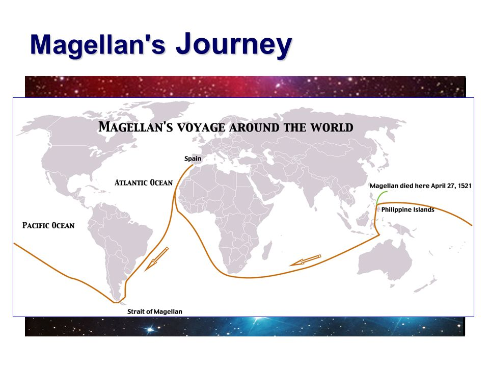 Magellan s Journey August 10, 1519 — September 6, 1522