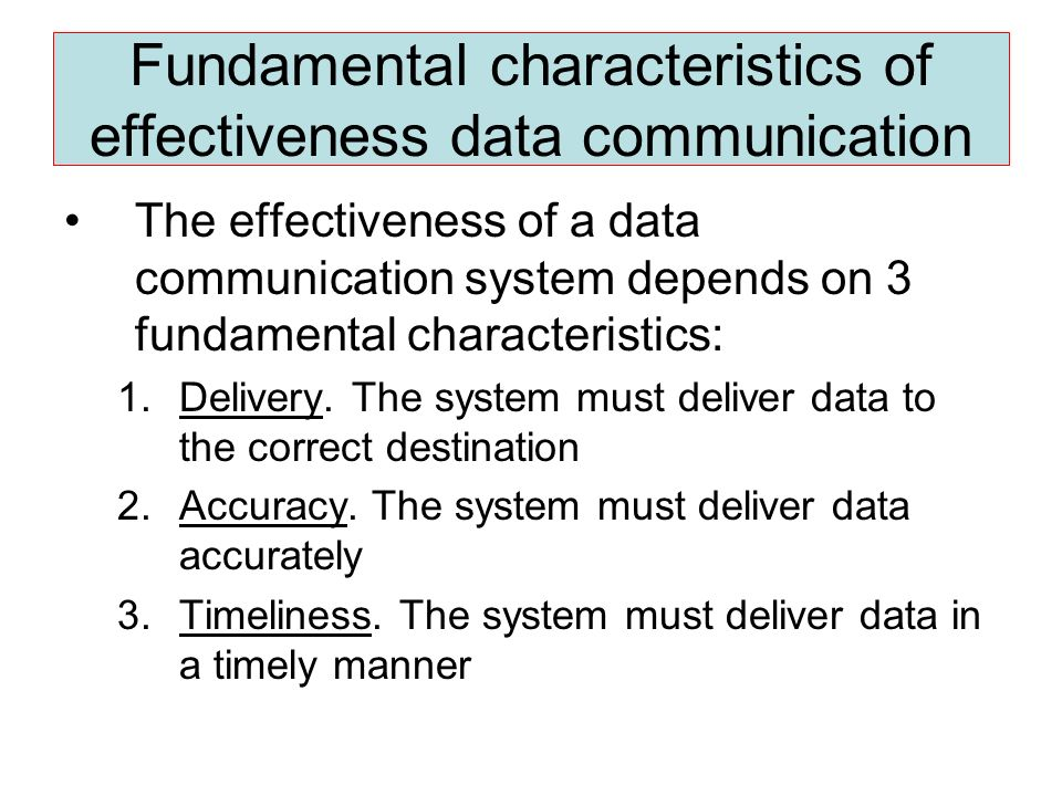 Introduction to Data Communications - ppt video online download
