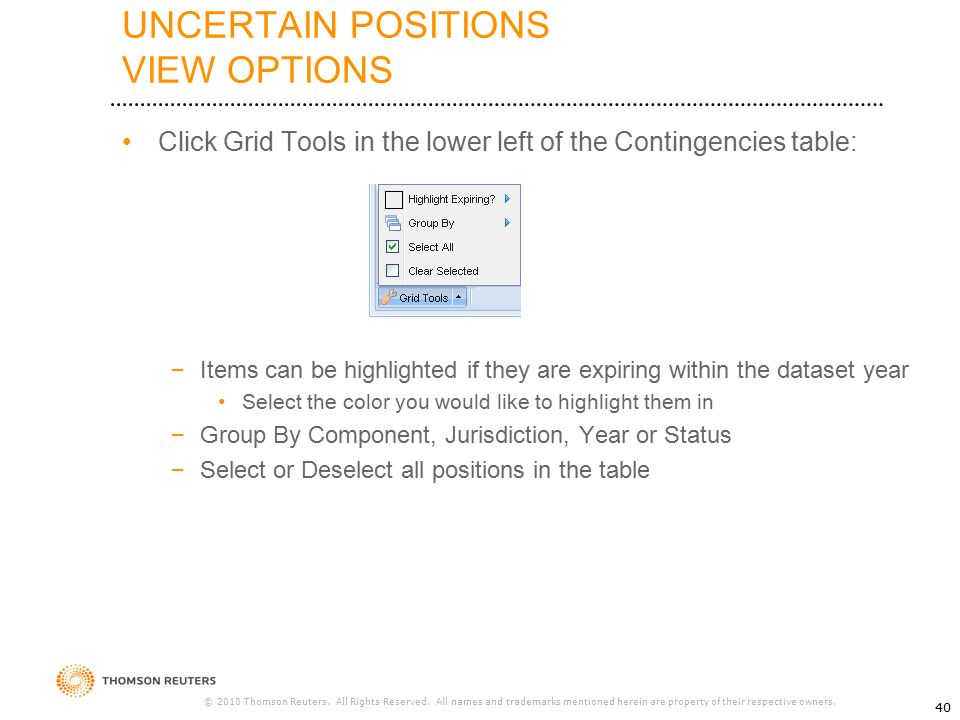 ONESOURCE™ UNCERTAIN TAX POSITIONS - ppt download