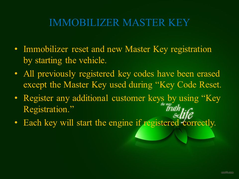 ANTI THEFT PROTECTION SYSTEMS IMMOBILISER LECTURER NAME: MR