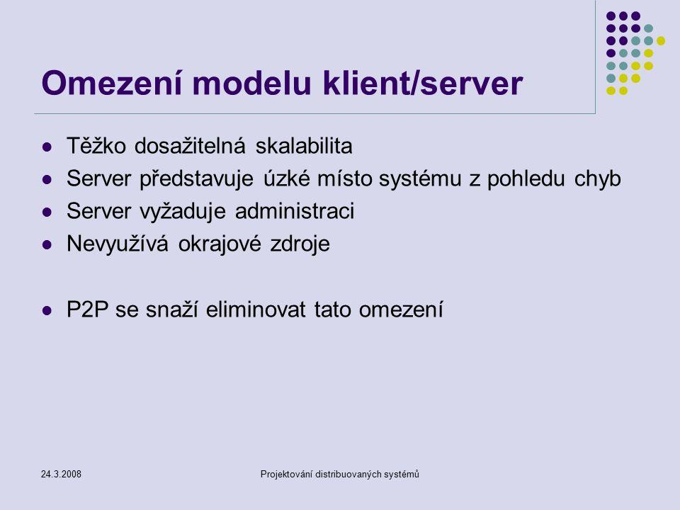 Strukturované a nestrukturované P2P sítě, DHT - ppt download