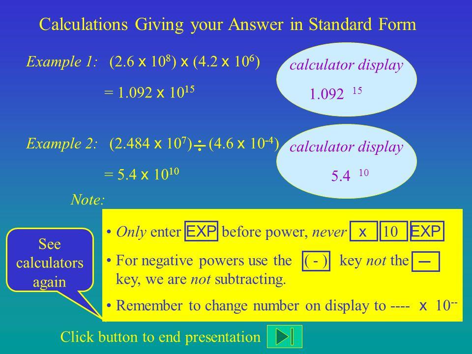 Standard Form Ppt Download