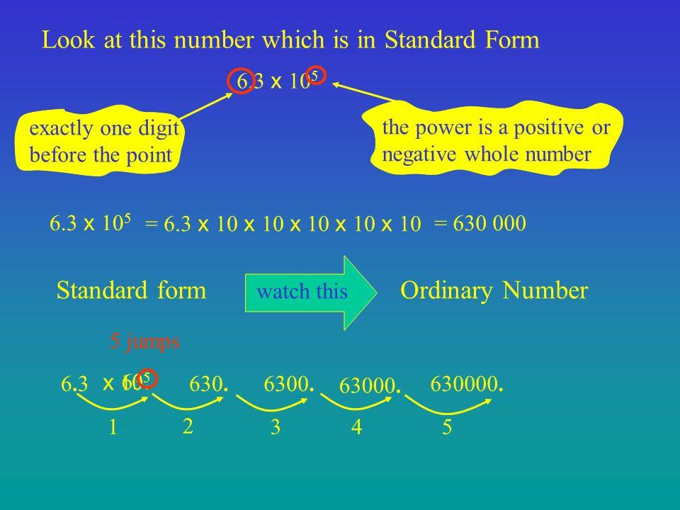 standard form look like  Standard Form. - ppt download