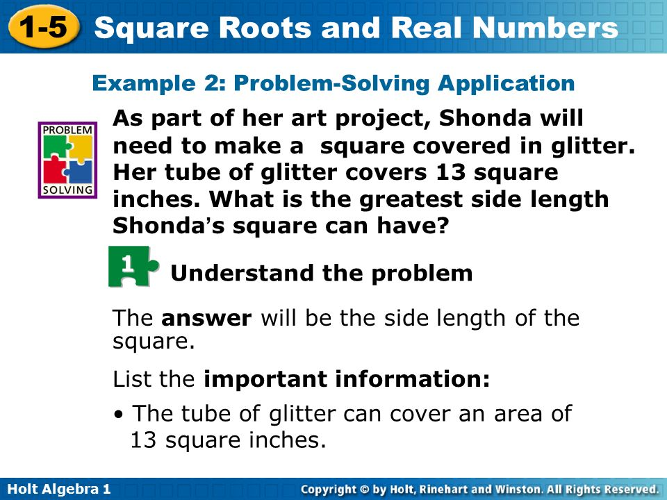 Example 2: Problem-Solving Application
