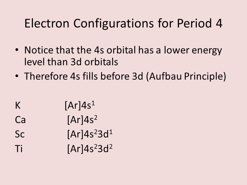 Section Electron Configurations And Periodic Trends Ppt Video