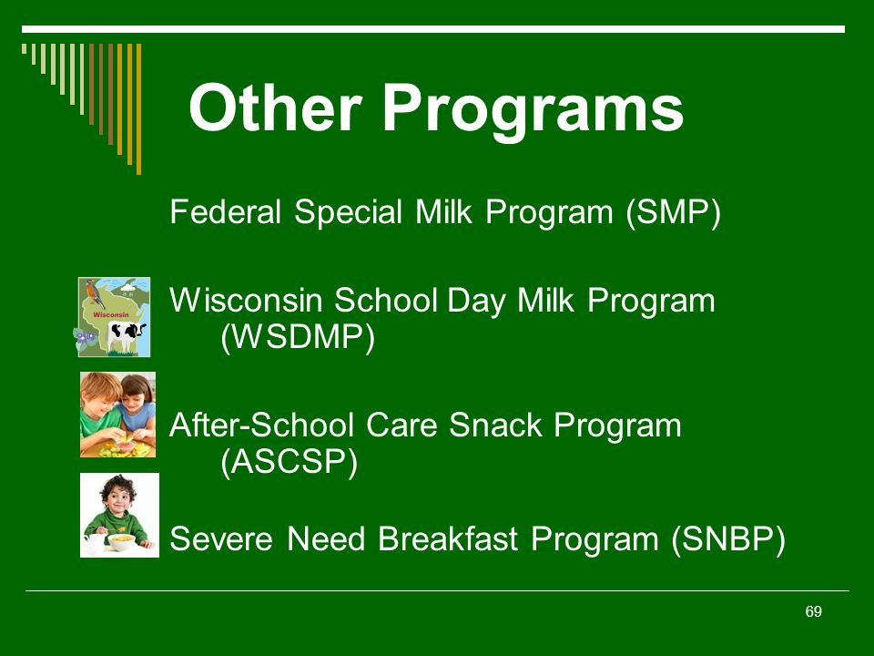 "Child Nutrition Program Regulations ""The Basics"" 2011 – ppt download"