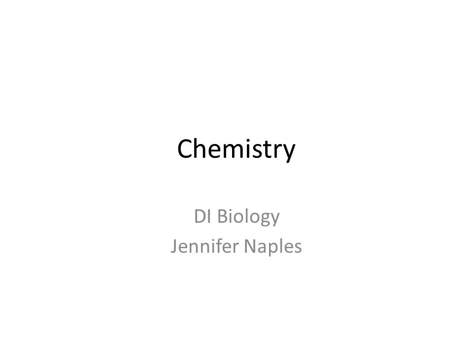 DI Biology Jennifer Naples