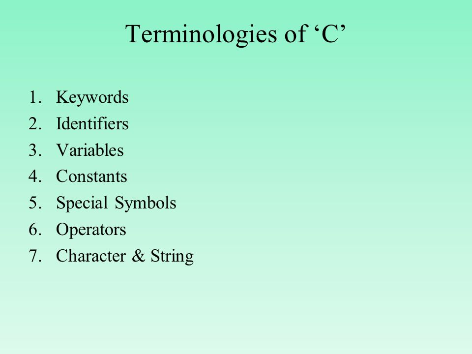 Basics Of C Programming Ppt Download