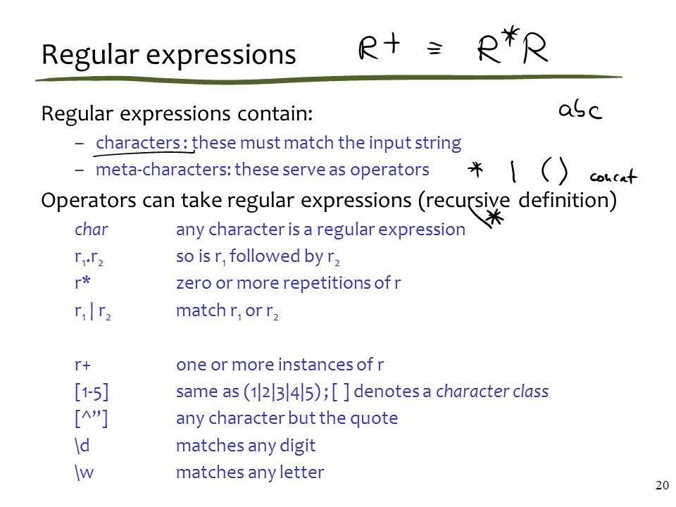 Regexes, regular expressions, automata - ppt video online download