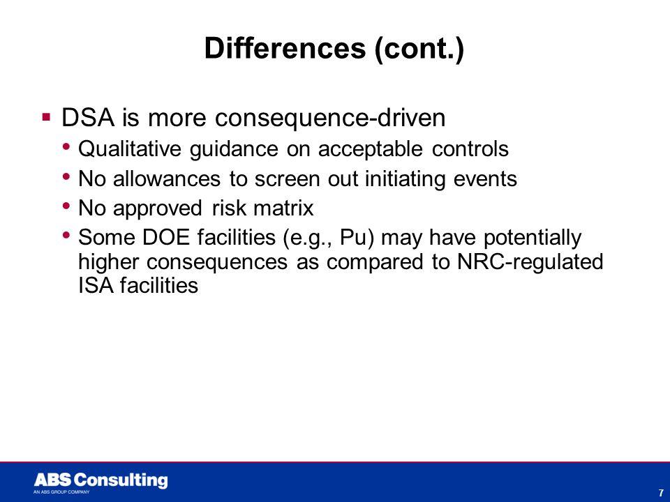 John Farquharson Safety Analysis Approaches – ISA vs  DSA – One