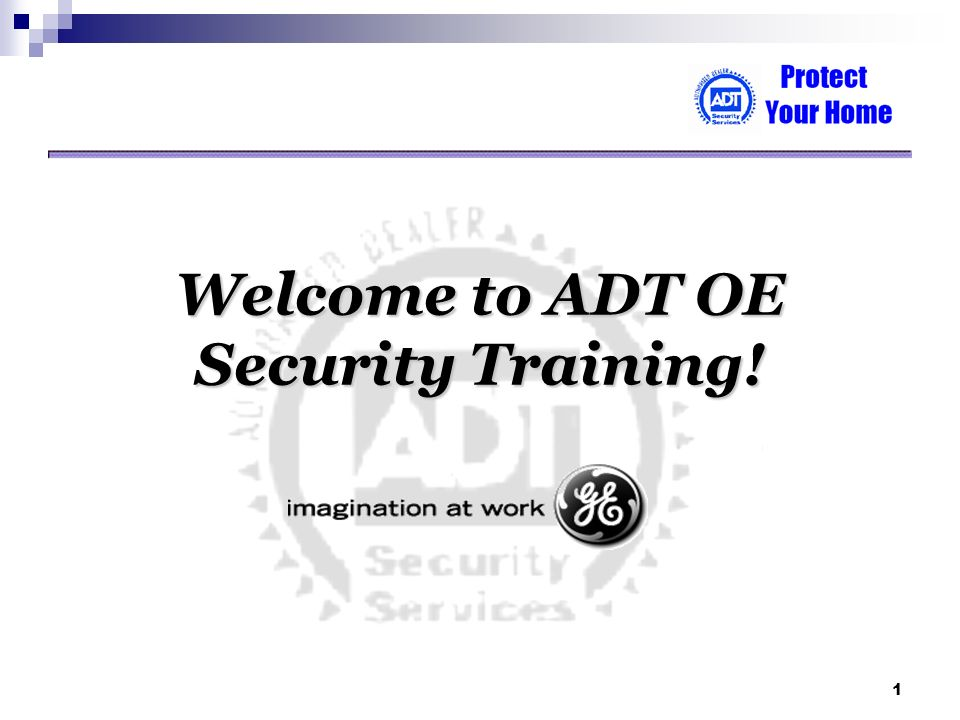 Welcome To Adt Oe Security Training Ppt Download