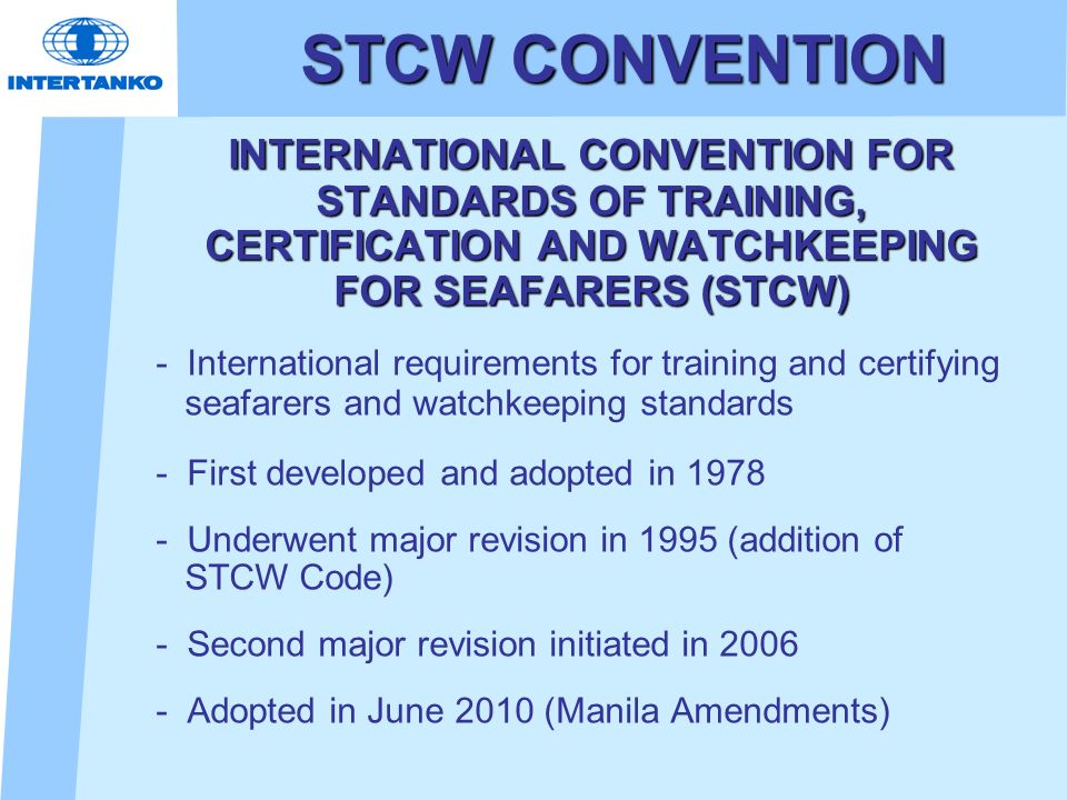 stcw convention download