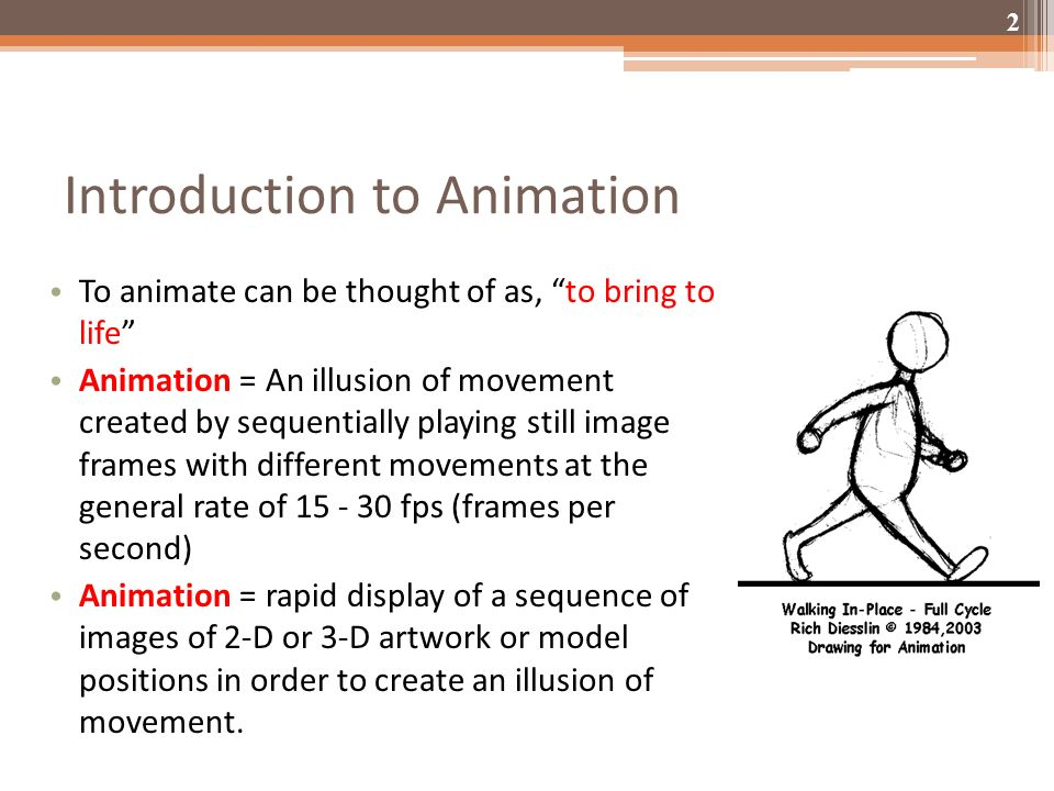 ANIMATION. - ppt video online download