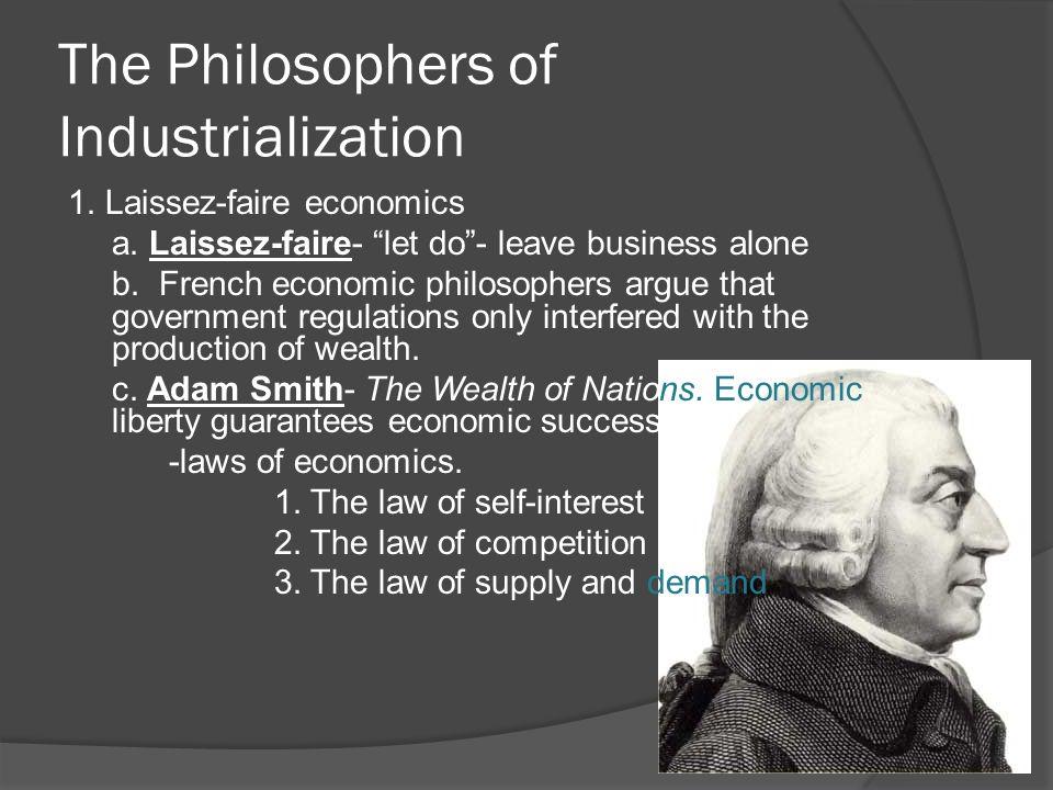 what the main idea of laissez faire