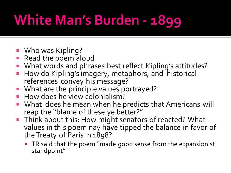 poem white mans burden