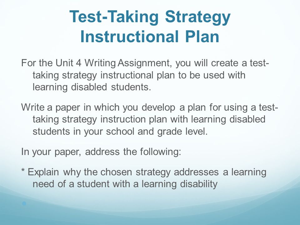 Sn 502 Teaching Students With Learning Disabilities Ppt Video