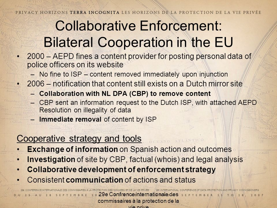 Collaborative Enforcement: Bilateral Cooperation in the EU