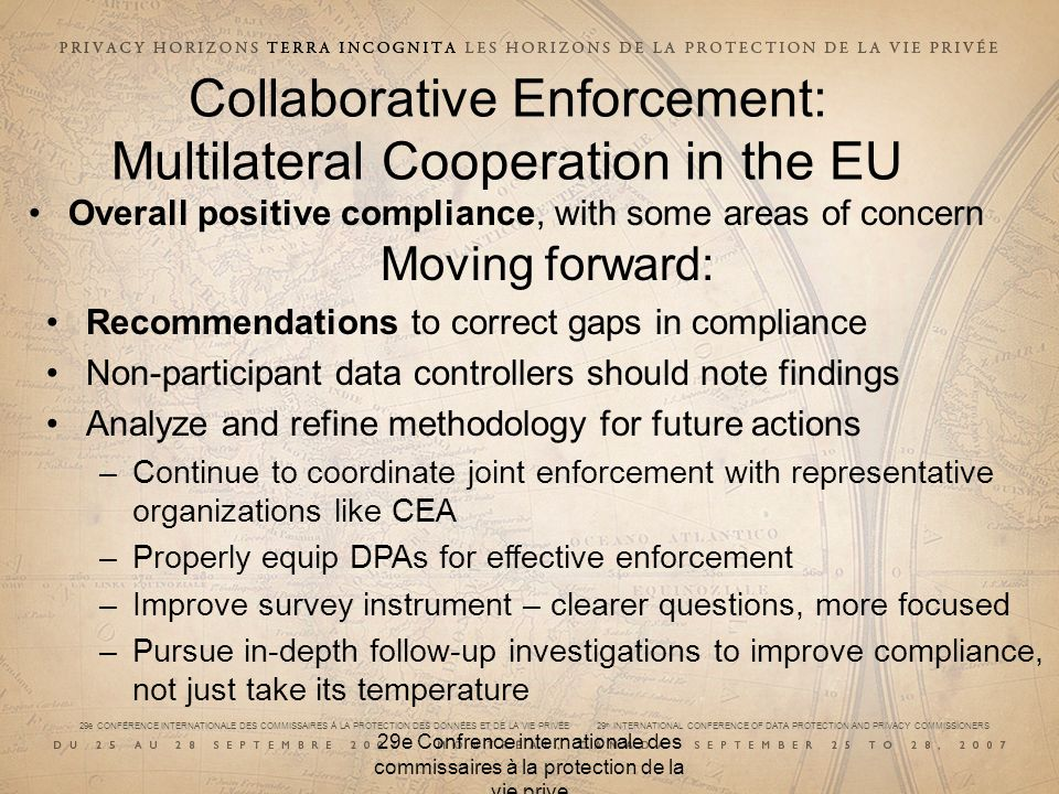 Collaborative Enforcement: Multilateral Cooperation in the EU
