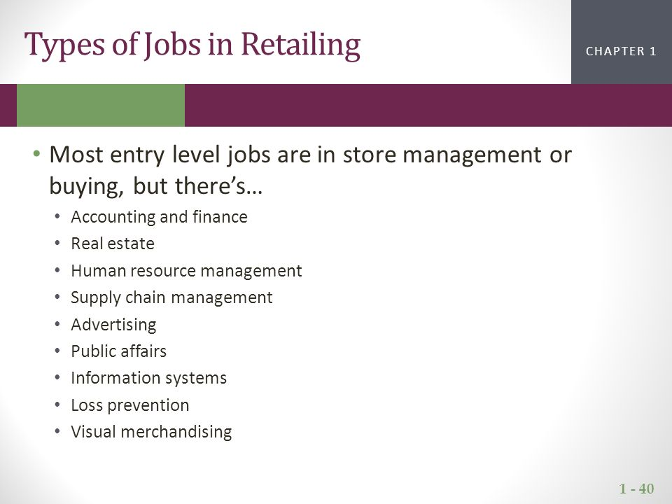 Introduction to the World of Retailing - ppt video online download